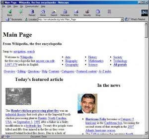 браузер Netscape 4.08