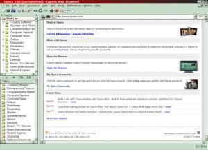 браузер Opera 3.62