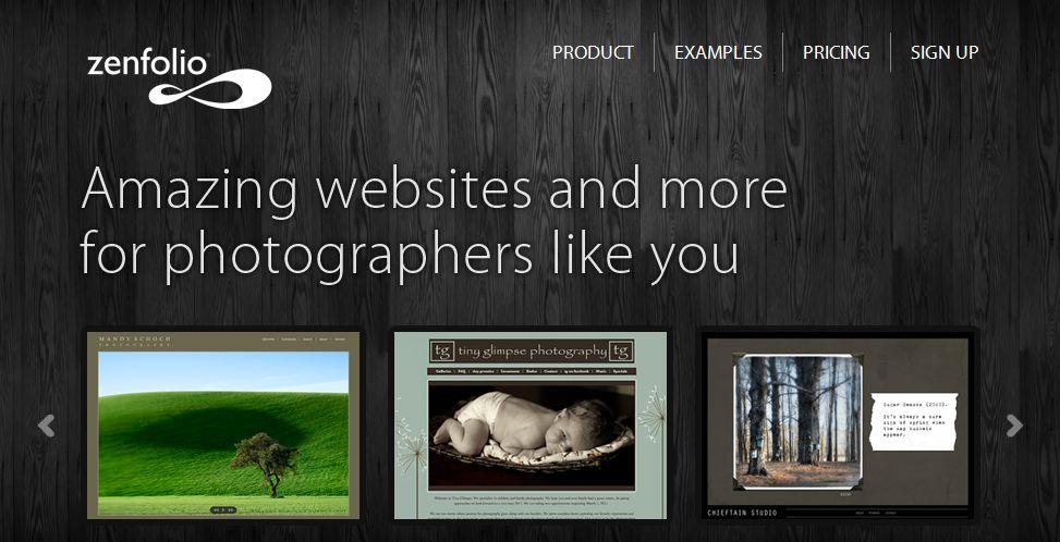 Zenfolio - сайт для создания портфолио для фотографов