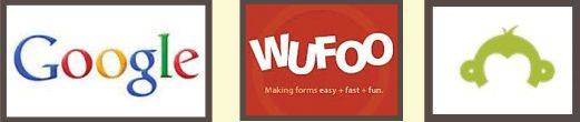 Google Forms, Wufoo, SurveyMonkey