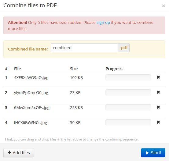 Онлайн сервис для работы с PDF