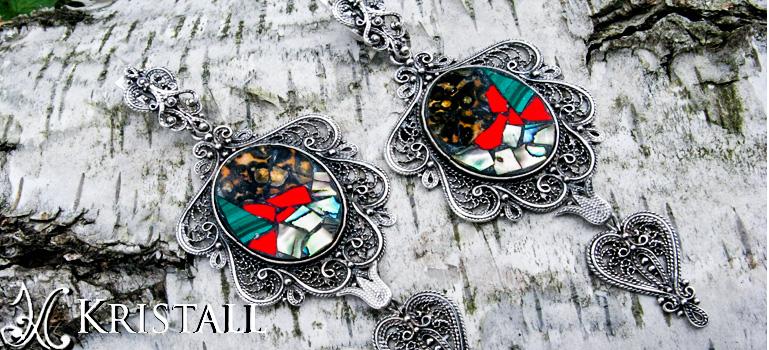 Интернет-магазин серебряных украшений Кристалл