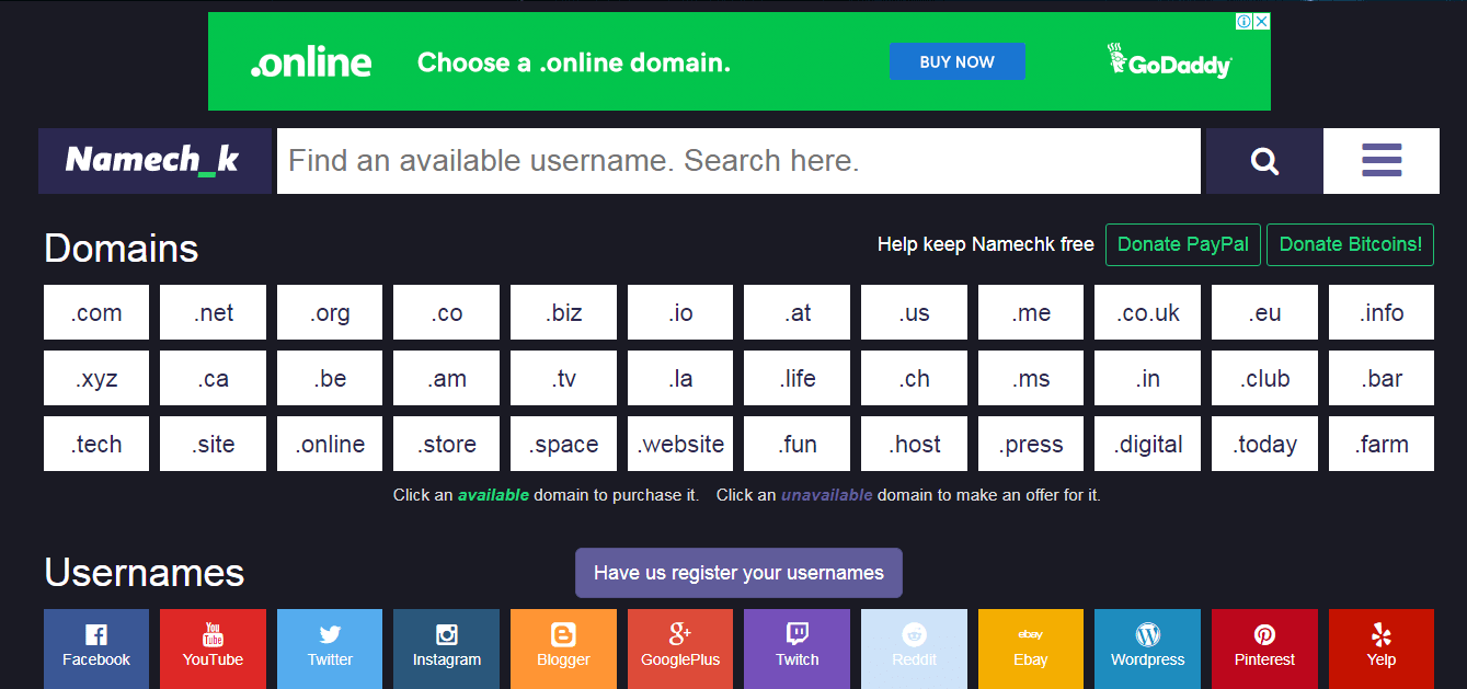 базы данных