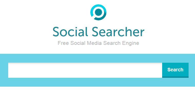 Поисковая система социальных сетей Social Searcher
