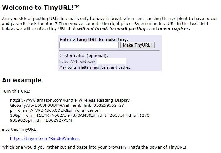 TinyURL