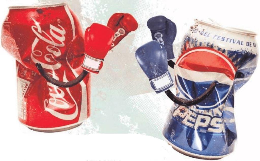 Кока-кола VS Пепси