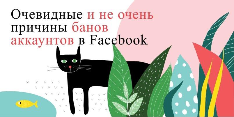 Блокировки рекламных аккаунтов в Facebook 2