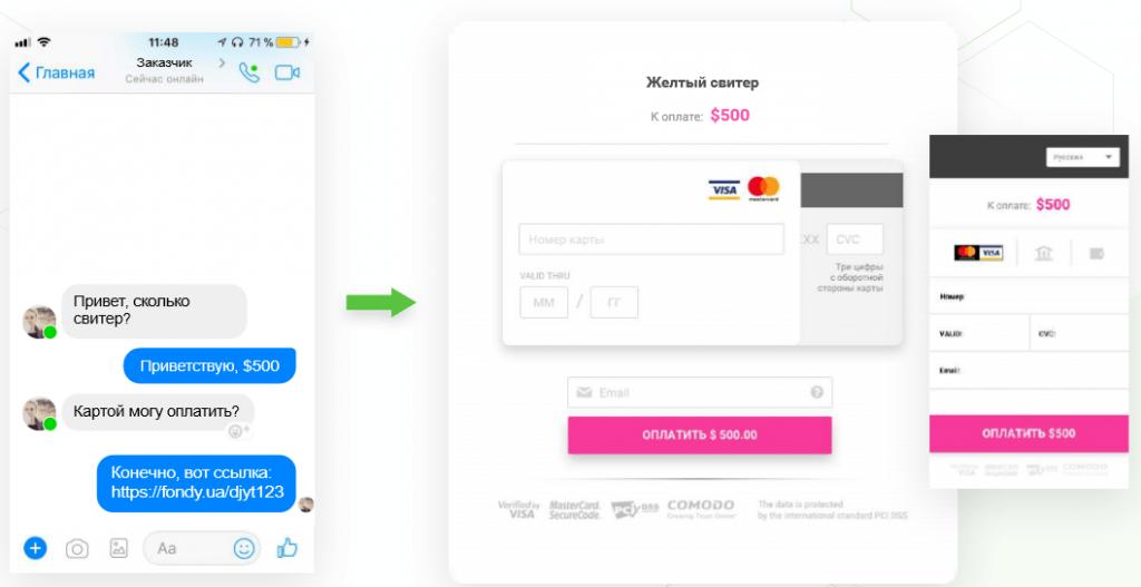 Обзор сервиса приема платежей FONDY 5