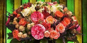 SMM для компании AMF (международной сети доставки цветов)