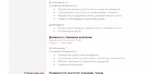 Резюме контент-менеджера в онлайн-конструкторе: руководство по составлению для вакансий в Украине и за рубежом