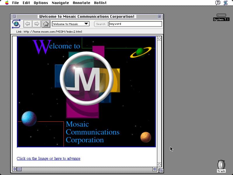 Mosaic браузер - фото 7